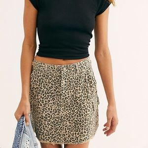 🆕 NWT Free People Military Short Skirt